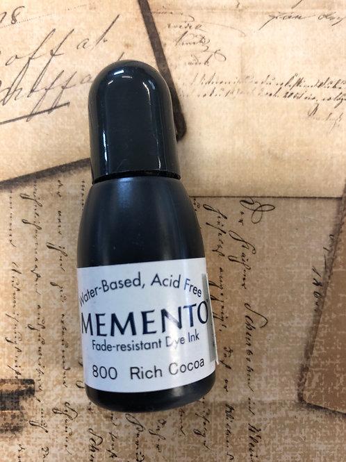 Rich Cocoa Memento Refill Ink