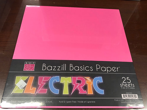 Bazzill Basics Paper Assorted Pack 25
