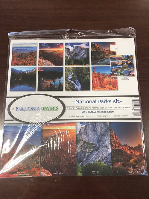 National Parks By Reminisce