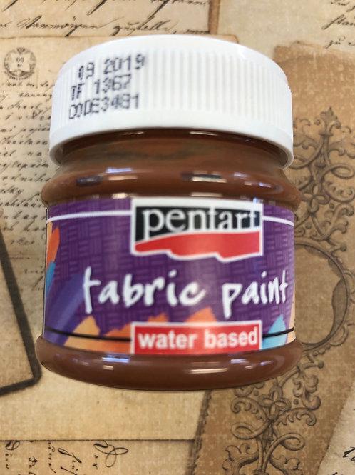 Fabric Paint Dark Brown