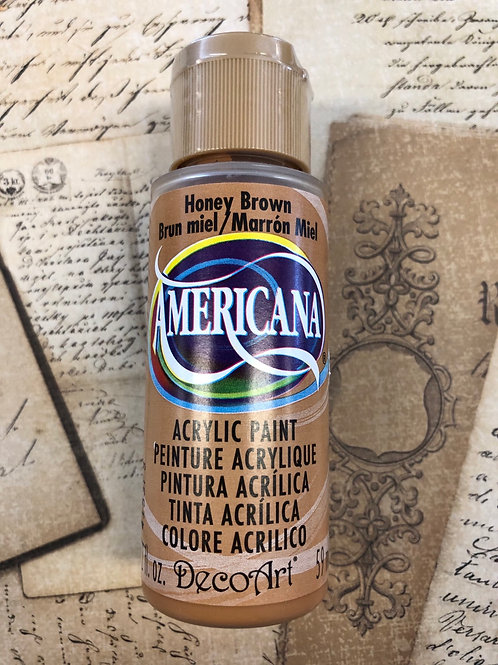 Acrylic Paint Honey Brown
