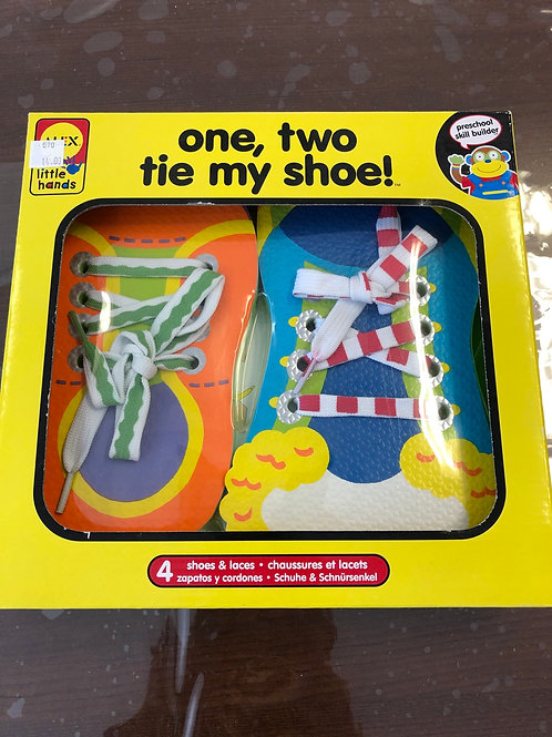 One,Two Tie My Shoes
