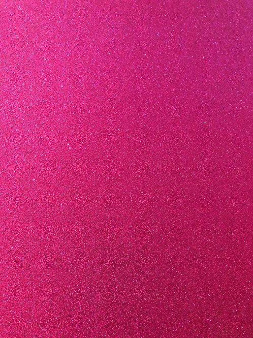 12x12 Magenta Glitter Cardstock GC115