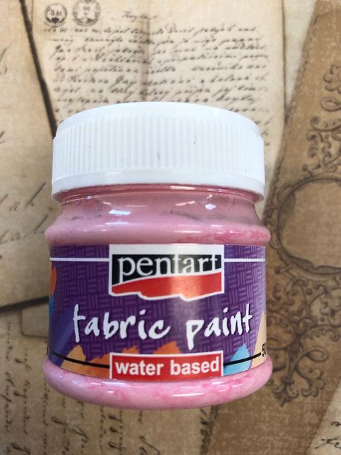 Fabric Paint Rose