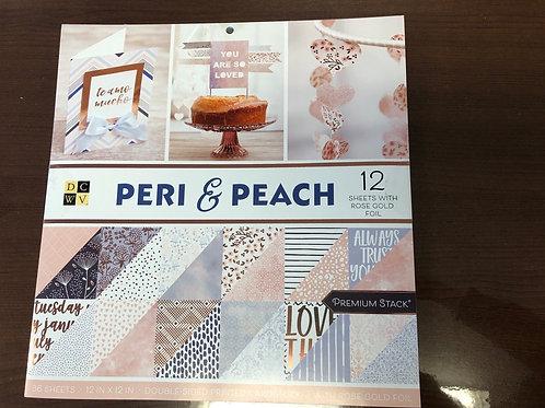 Peri & Peach Paper Pad