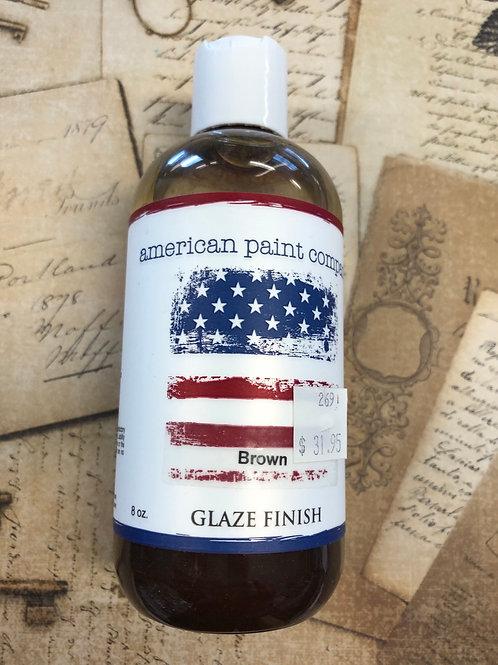 Brown Glaze Finish 8oz