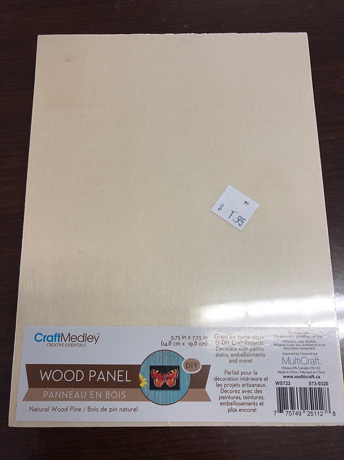 "5.75""x7.75"" Wood Panel WS722"
