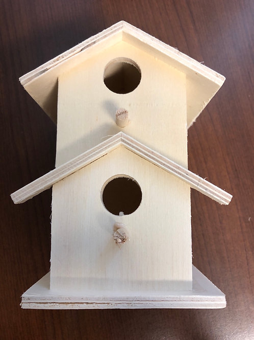 """Birdhouse 5.5""""x 4.5"""""""