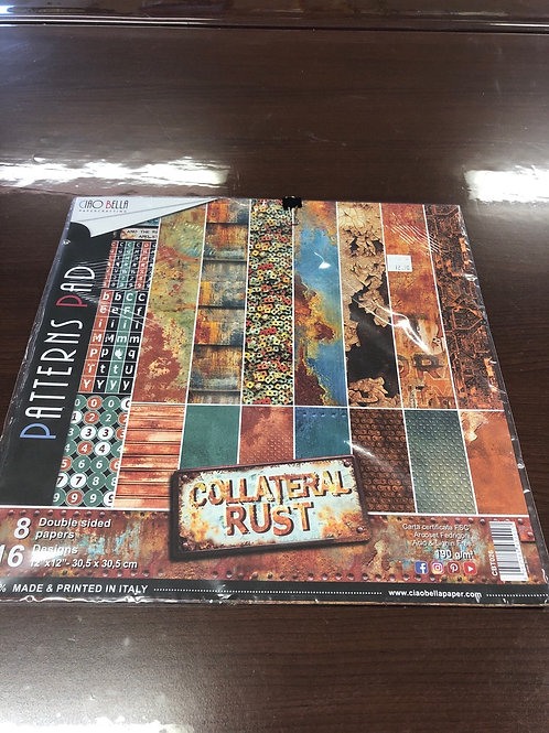 Ciao Bella Collateral Rust Patterns Pad