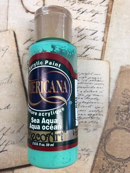 Acrylic Paint Sea Aqua