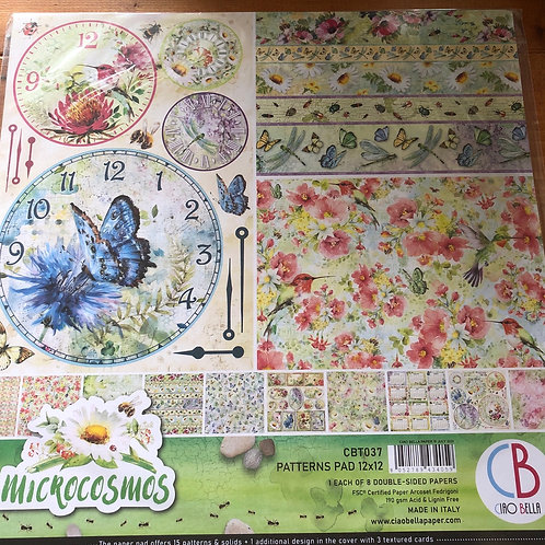 Microcosmos Patterns Pad CBT037