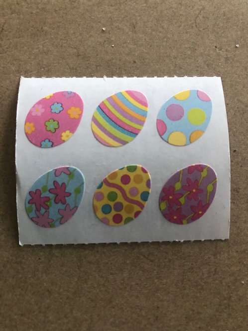 Easter Eggs Small Stickers