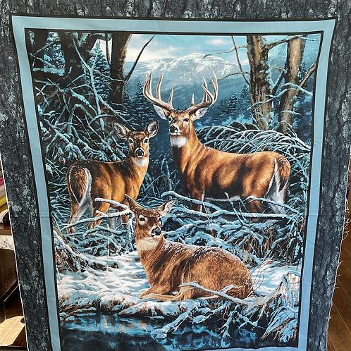 Deer Panel 36x43