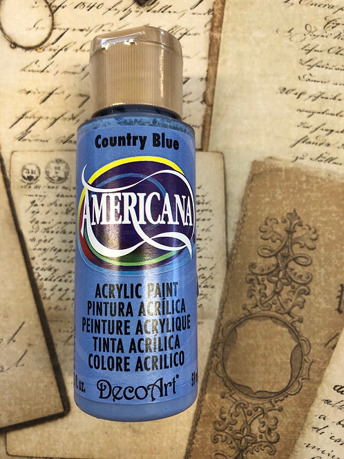 Acrylic Paint Country Blue