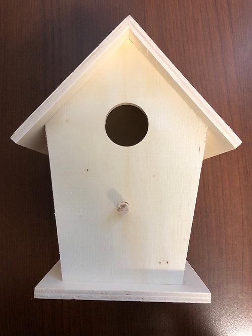 """Birdhouse 6""""x 5"""""""