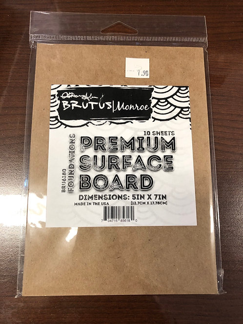 5x7 Premium Surface Board 10 Sheets