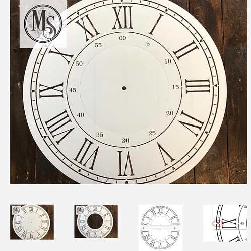 "24"" Clock with Seconds"