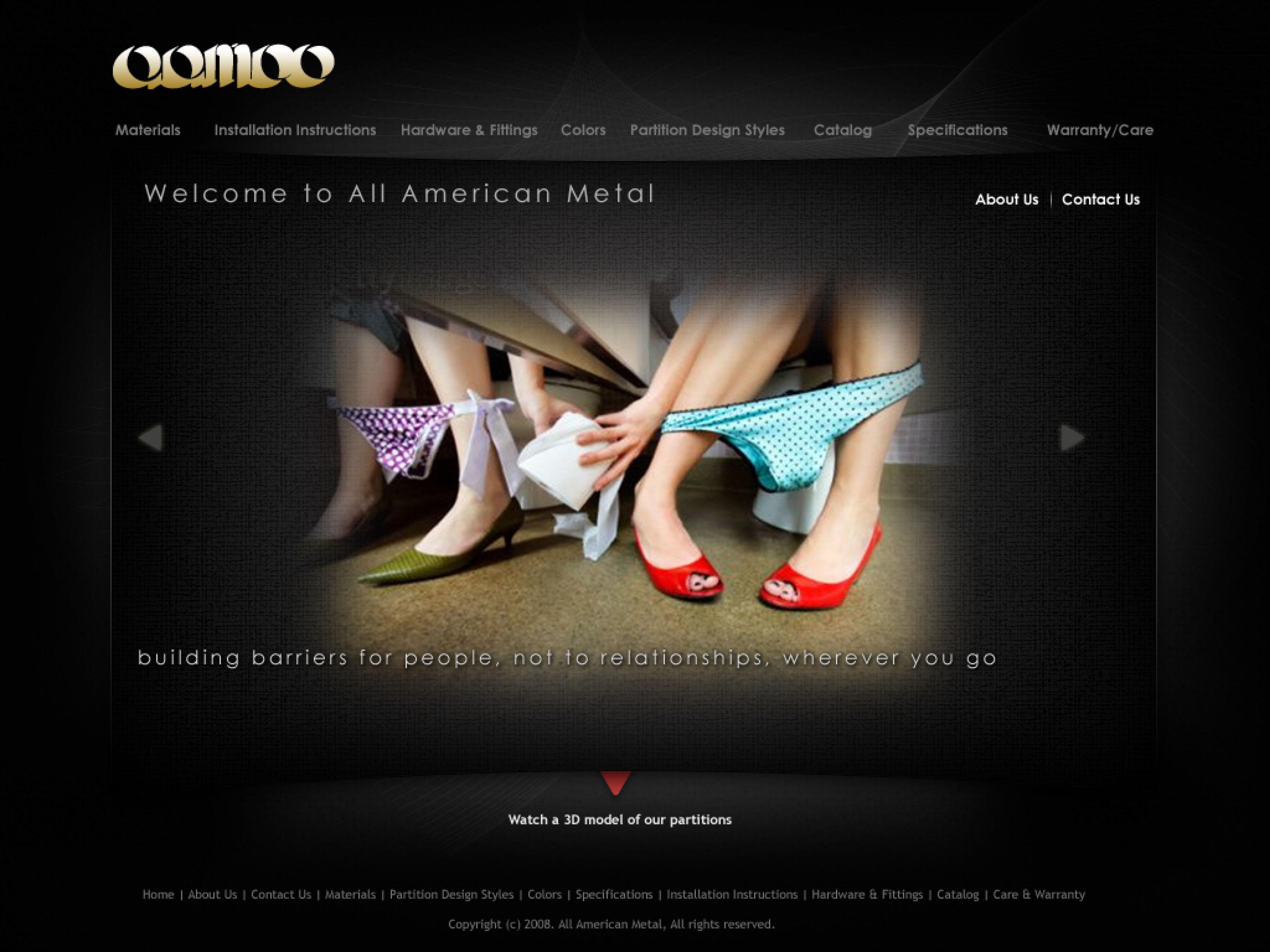 All America Metal website