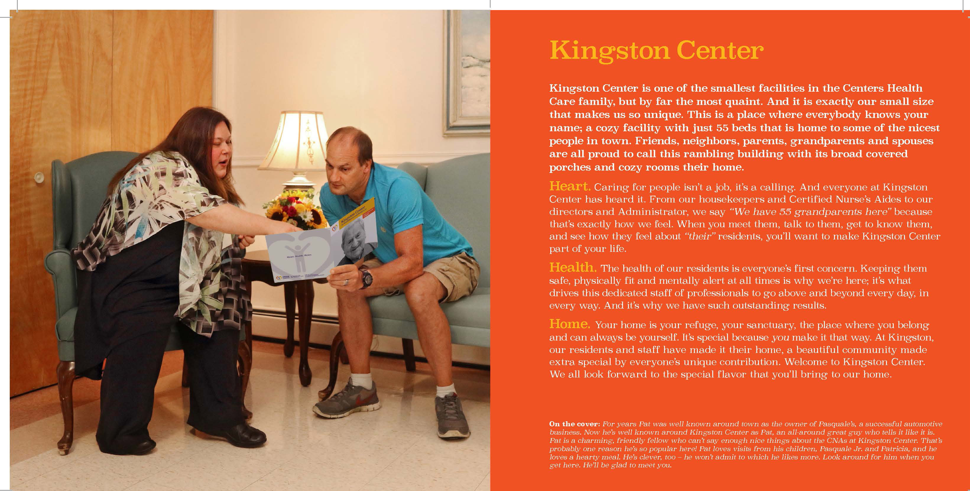 Kingston Center Centers Health Care