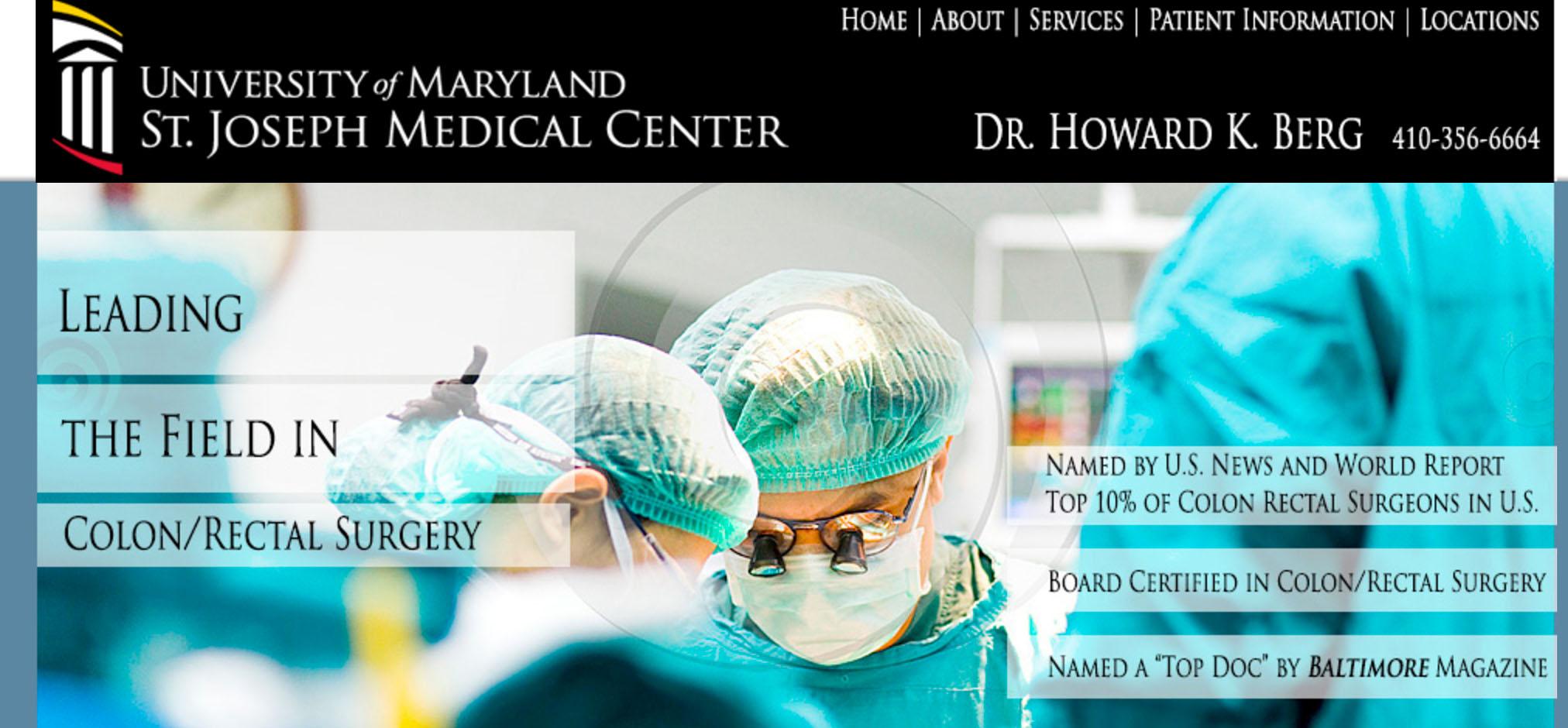 U of Md. St. Josephs Med Center
