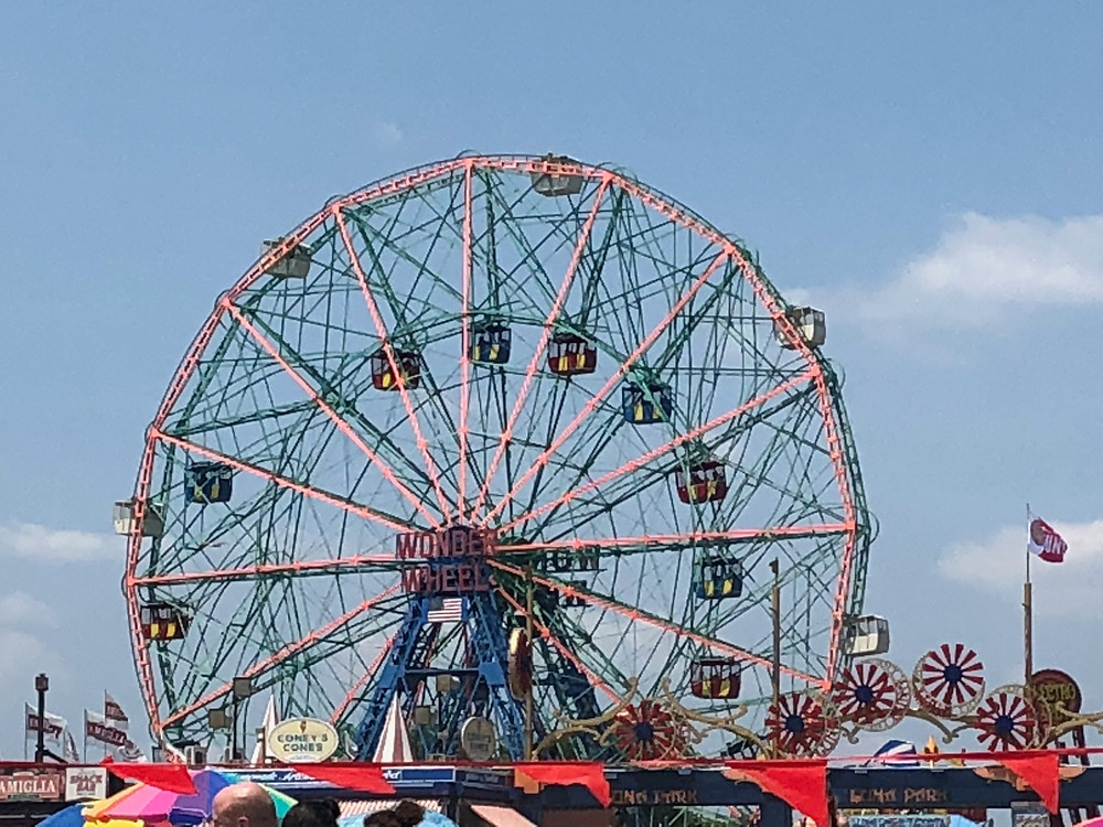 It's the Wonder Wheel located at the most magnificent place on earth, Coney Island