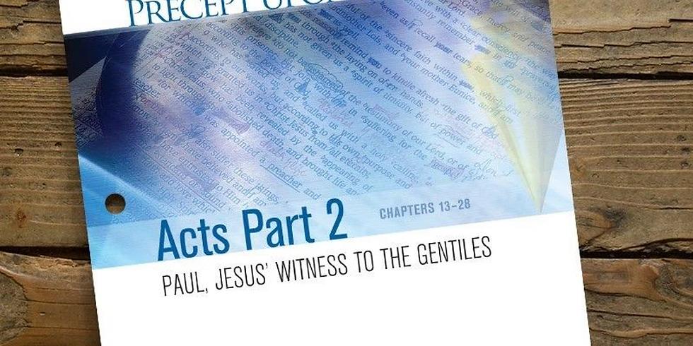 Precept Bible Study - Acts Part 2