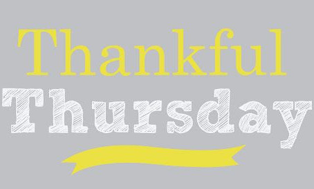 Thankful Thursday - March 19