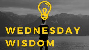 Wednesday Wisdom - April 21