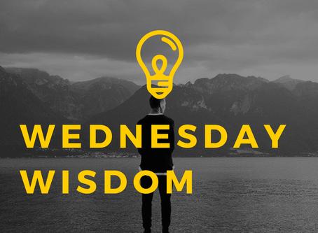 Wednesday Wisdom - September 23