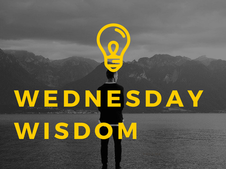 Wednesday Wisdom - September 9