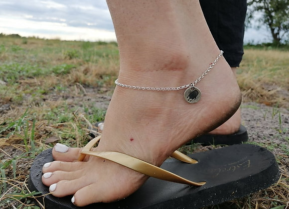 Charming Pangolin Anklet
