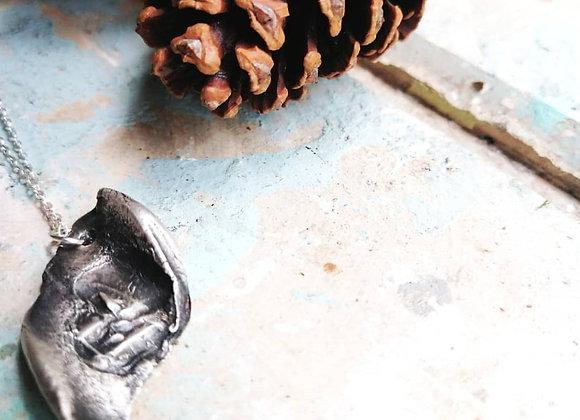 Silver Seed Pod