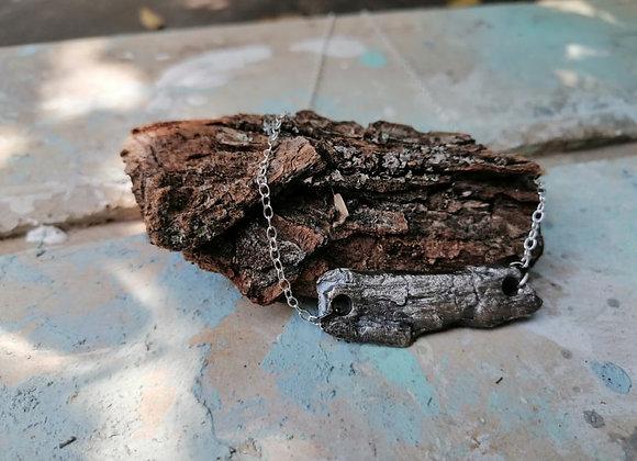 Bark Pendant (Oxidised)