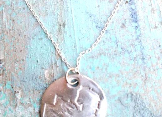 Textured Silver Zambia Pendant