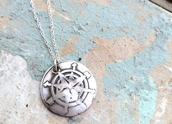 True North Pendant (Oxidised)