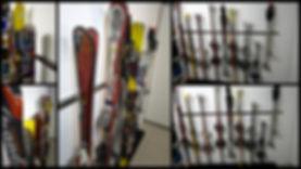Baraski Maxi pour le rangement de 5 paires de ski
