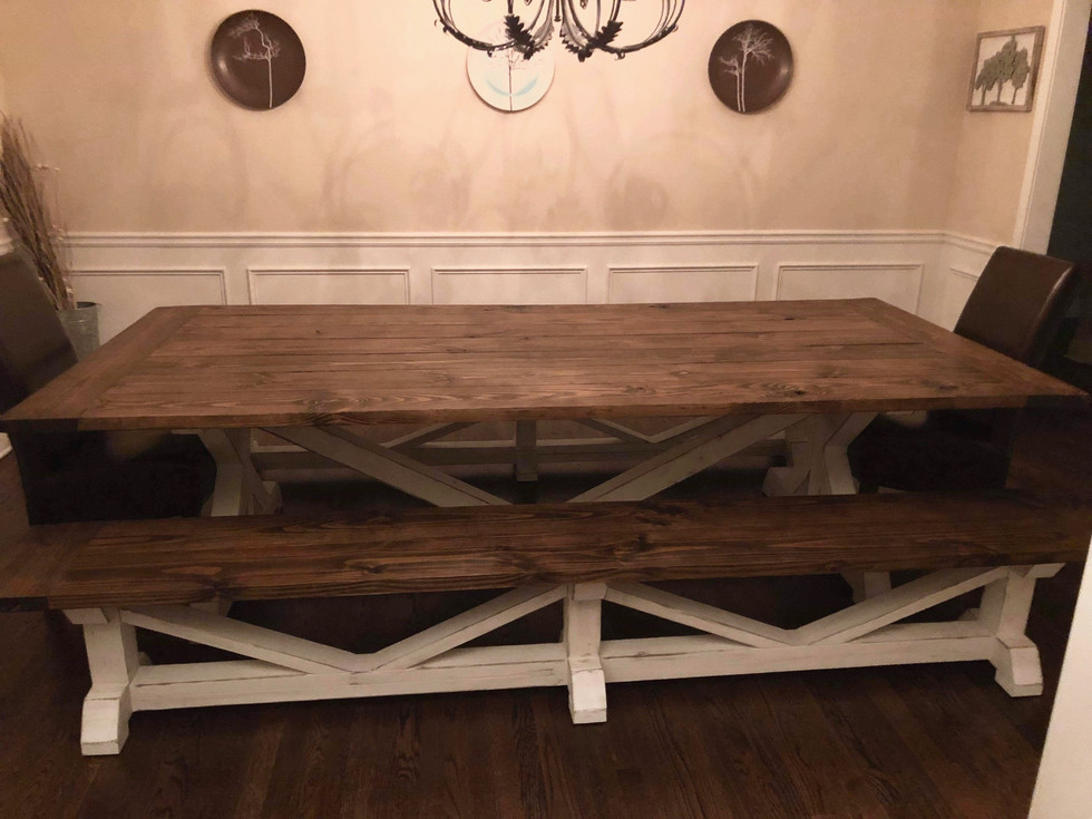 KHUNKY - JACOBEAN/STAIN WHITE DISTRESSED - 9FT X 4FT