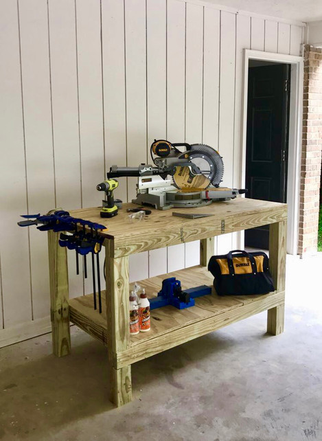 Make your first DIY a Workbench!