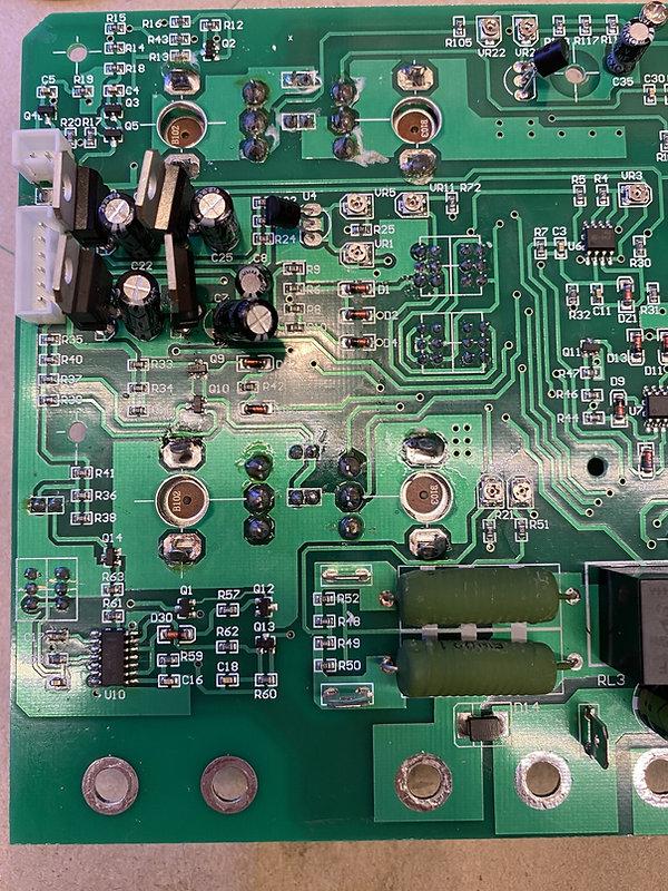 UNI-T UTP3305 problem repair