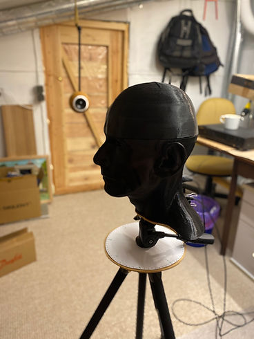binaural mic development measurements in my lab