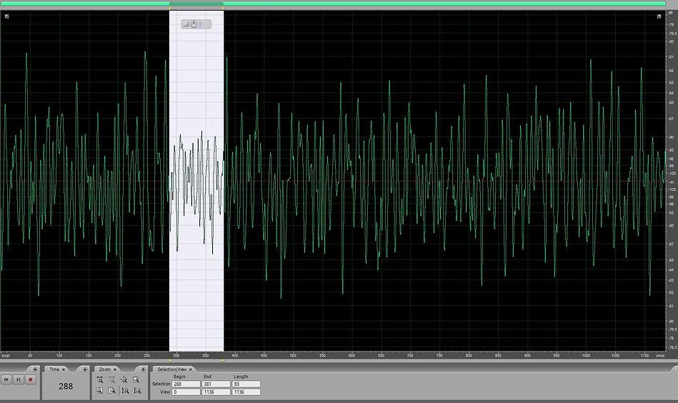 noise floor of microphone capsule em273 enlarged a lot