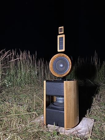 Perfect impulse response speakers measurements outdoors