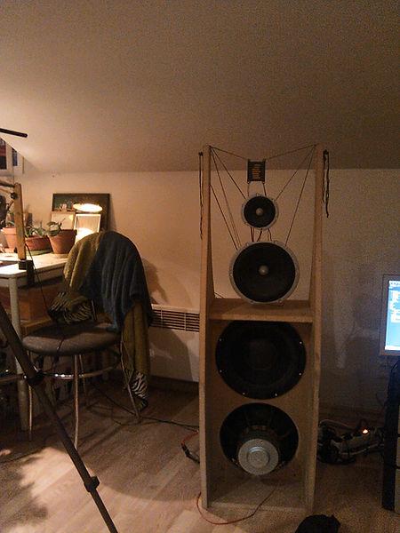 open baffle speakers prototype