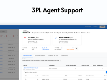 Parade launches Agent Support to provide collaboration on capacity and automation for 3PLs