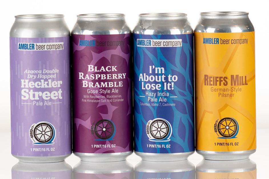 Ambler Beer Company Labels