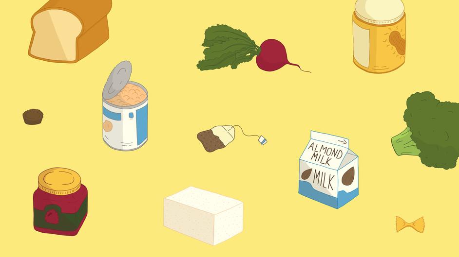 Favorite Foods Banner