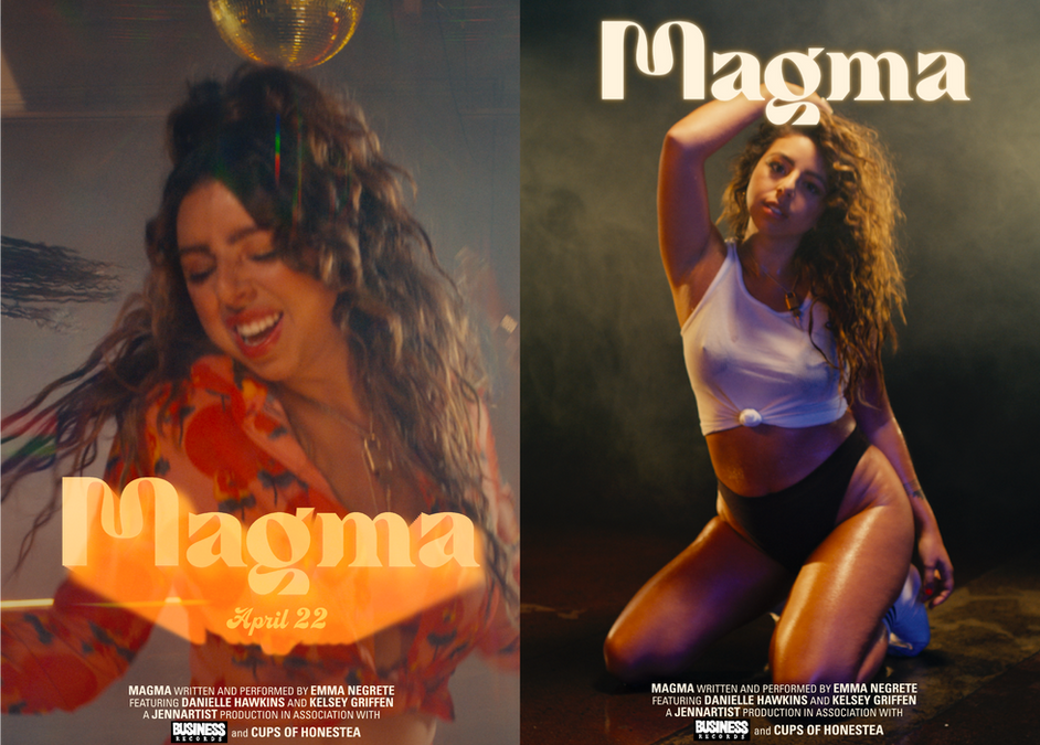 """""""Magma"""" Music Video Promo Posters"""