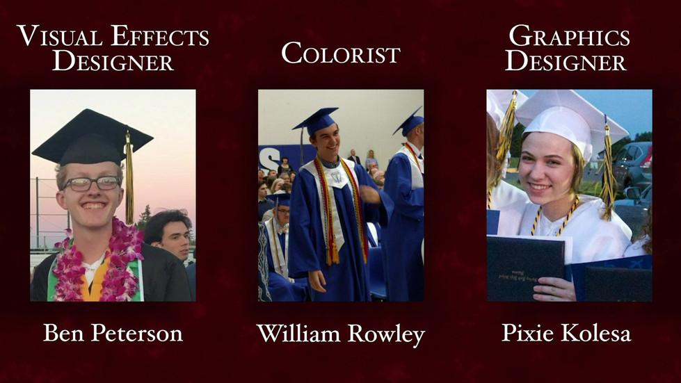"""The Graduation Party"" Motion Design and Graphic Design (premiere TBD)"