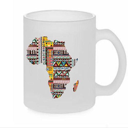 Heat printed Mug African Map