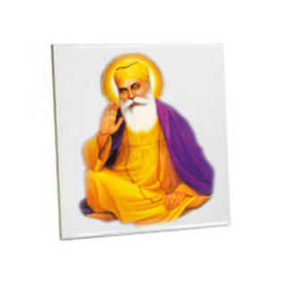 Bathroom wall Printed Tiles Guru Nanak